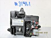 2010 Chevrolet Cobalt Bcm Module P/n 20866984 With Fuse Block Assembly
