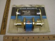 Ultra Hardware Bed And Bath Wynnewood Privacy Polished Brass Door Knob 44467 H198