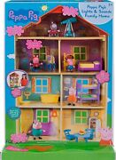 Peppa Pigand039s Lights And Sounds Family Home Feature Playset House 62cm - On Special
