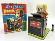 Nomura Toy Dog Pianist Play The Piano 1950 Made In Japan