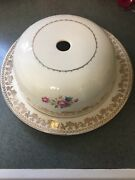 Vintage Stetson Cake Cover And Cake Plate