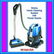 Sirena S10na Home Water-base Filtration Vacuum Cleaning System