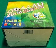2006 Goaaal Panini World Cup Germany Licensed Cards Sealed Hobby Box 40 Packs @@
