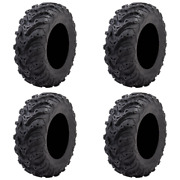4 Pack Tusk Mud Forceandreg Tire 25x8-12 - Fits Yamaha Grizzly 700 4x4 2007-2021