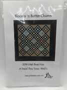 Blooms 'n Butter Churns Quilt Pattern 2016 Quilters Attic