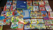 Huge Lot Of 30+ Leappad Cartridge/books Leap Frog Interactive Learning System