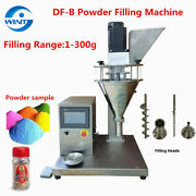 Semi-auto Auger Powder Filling Machine 1-300g Applicable To Peppercoffee Powder