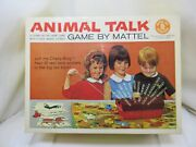 Very Rare Animal Talk A Down On The Farm Game By Mattel 1963 Complete Nice