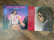 Vintage Lot Of 2 Vinyl Lp Summer On The Radio And Bob Dylan Blood On The Tracks