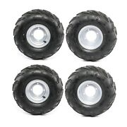 4x 7 16x8-7 16x8x7 Wheel Tire Rim For Atv Quad Go Kart Taotao Sunl Lawn Mower