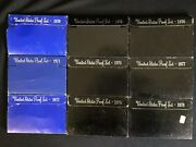 Us Mint Proof Coin Sets Years 1970-1978 Complete