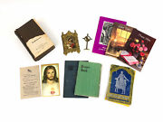 German Pocket Mini Holy Bible 1906 Heilige Schrift Old And New Testament W/ Cross
