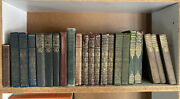 Vintage Book Lot - Retro - 22 Old Decorative Books - Shakespeare And Others