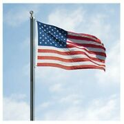 18ft Us Made Steel Flagpole By Valley Forge