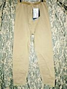 Usgi Polartec Gen3 Ocp Brown Mid-weight Cold Weather Drawers Pants Small-short