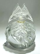 Rare Numbered Lalique Butterfly Factice Perfume Flacon 2003 Edition