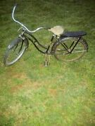Hopalong Cassidy Bicycle 1950s Rollfast 24 In.