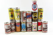 Vintage Pull Tab Beer Cans Schimdtand039s Billy Koehler Cinci And More 15 Empty Cans