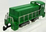 Z Scale Green Diesel Switcher Loco Painted/unlettered W/mkln Cplrs Tested Nib