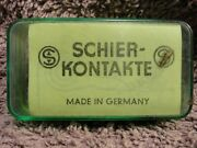 New Old Stock Schier-kontakte Ignition Contact Points 2116 Zkt 70 Sort 2 Sealed