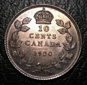 Old Canadian Coins Rare Choice 1920 Canada Ten Cents Free Shipping Us And Ca