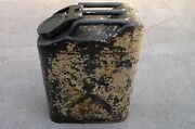Old Us Army 1965 Dated Vietnam War To Desert Storm Water Can / Jerry Can Used