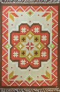 20th Century Swedish Flat-weave5and0397x 8and039 Great Colors. 17115