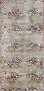 Amazing Oushak Hand Made Carpet 5and0395 X 11and03911camel Color