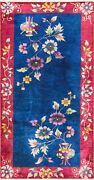 3' X 5'10 The Most Amazing Antique Art Deco Chinese Oriental Rug, 16948