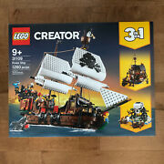 Lego Pirate Ship 3 In 1 Creator 31109, 1260 Pieces, Brand New In Sealed Box