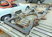 1969 Datsun Roadster 1600 Chassis Frame-springs-nice Clean Shape-rustfree-pl