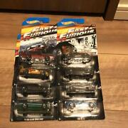 Hot Wheels 1/64 Mini Car Set Fast And The Furious 7 Memorial Limited Edition