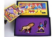 W. Britain 8672 Lion Tamer And Lion Lead Circus Figure Model Set