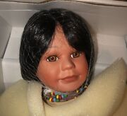 """Dynasty Doll Collection Pocahontas And Little Deer. """"new In Box""""."""