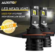 Fit For Ford F-150 2004-2014 H13 9008 Led Headlight Bulb High Low Beam 6500k M2a