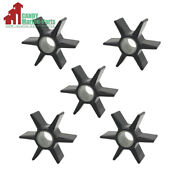 5 Pic Water Pump Impeller For Mercury Quicksilver Outboard 47-43026t2 43026t-2