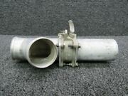 5117124-1 / 5117258-12 Cessna 421b Duct And Outlet Cabin Pressure W/ Valve Rh