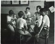 Horace Bristol - China - Happy Meal - Silver Print Vintage 1945
