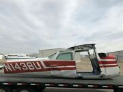 Cessna 172m Fuselage Assy W/ Bill Of Sale Data Tag Airworthiness Log Books