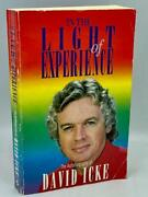 1993 In The Light Of Experience David Icke Signed Lizard People Occult Mystic