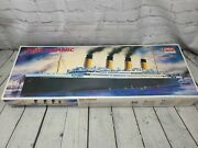 Rms Titanic Model 1405 1/350th Academy Minicraft Kit Complete - Open Box