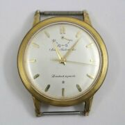 Seiko Automatic 1959 First Model 14060n Automatic Power Reserve Gold Plate Menandrsquos