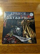 Avenged Sevenfold - City Of Evil Exclusive Red Clear Gray Splatter 2x Vinyl Lp