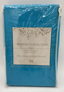 Estex Home Fashions Manor Collection Two Standard Pillowcases 500 Thread Count