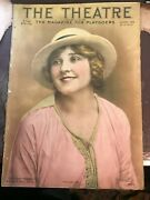 The Theatre Magazine Vintage August 1914 Hazel Dawn Cover Mary Pickford Fashion