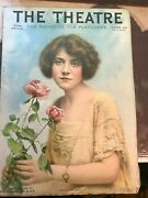 The Theatre Magazine Vintage October 1914 Ruth Chatterton Cover Actress Clubs