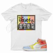 White Friends T Shirt For To My First Coach Zoom Cmft Mid Low Zitron 1