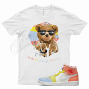 White Rain Teddy T Shirt For To My First Coach Zoom Cmft Mid Low Zitron 1