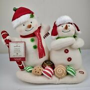 Hallmark Jingle Pals Singing Animated Dance Snowmen What Iand039m Going To Eat