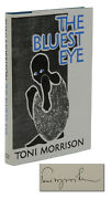 The Bluest Eye Signed By Toni Morrison First British Edition 1st Print 1970
